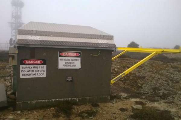 Weather cover for remote electrical housing